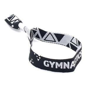 British Gymnastics Official Wristband - Black
