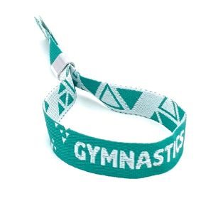 British Gymnastics Official Wristband - Green