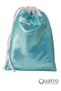 Quatro Mint and silver handguard bag