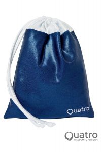 Quatro Navy and silver handguard bag