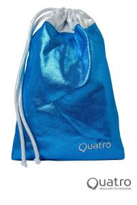 Quatro Ocean blue and silver handguard bag