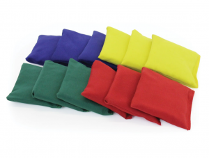 Classic Rectangular Bean Bags Bag of 12