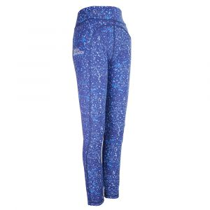 Ladies Blue Reversible Leggings