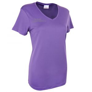 Purple V-Neck T-Shirt - Women's