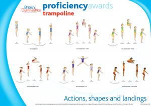 Trampoline Proficiency Wall Charts