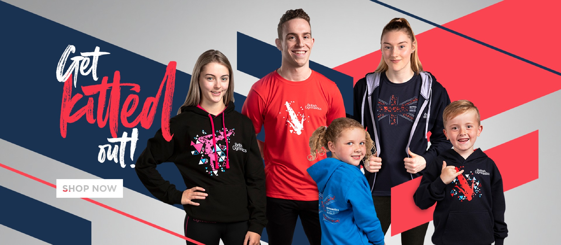 British Gymnastics Hoodies