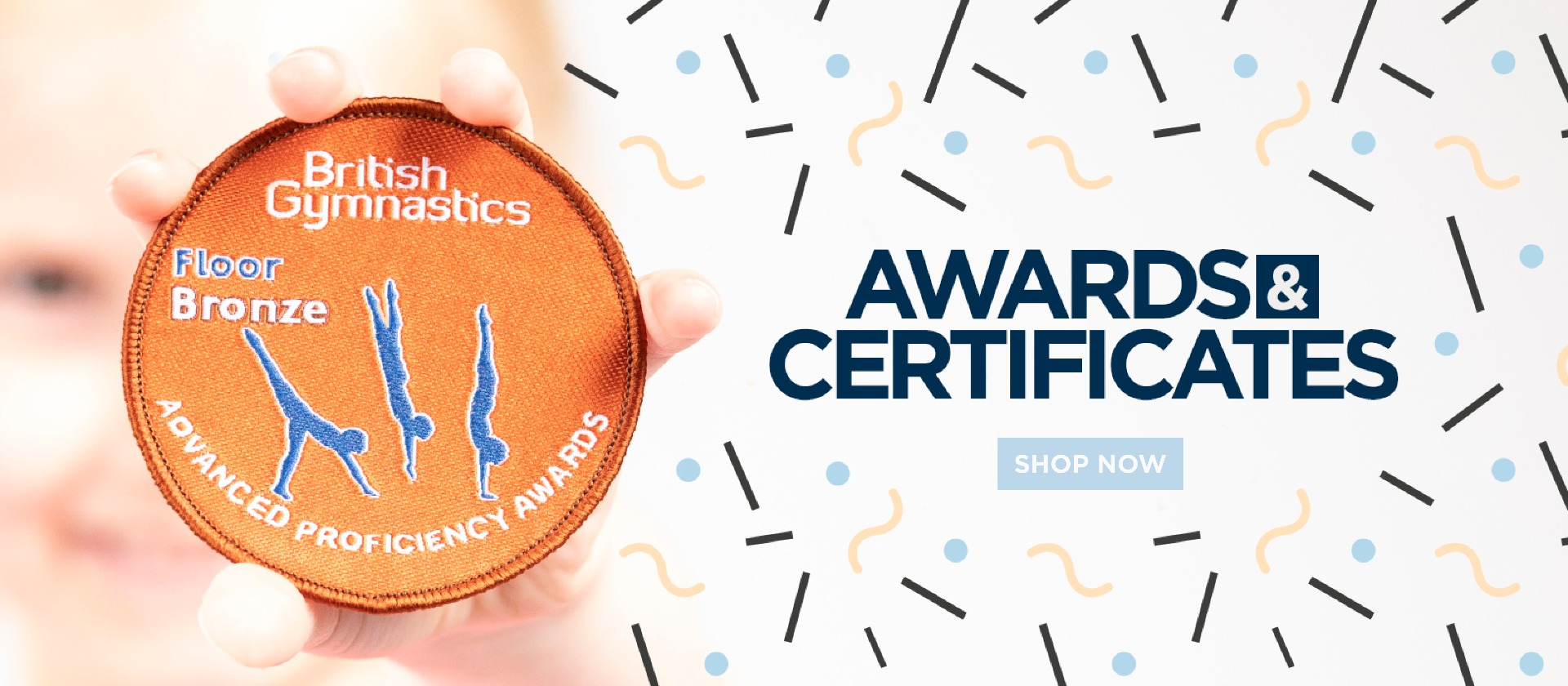 British Gymnastics Badges & Certificates